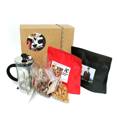 Gift Box with Kandinsky and Magritte Coffee