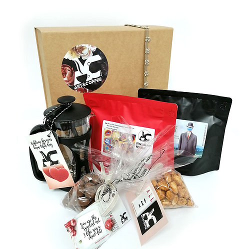 Gift Box with Colombia and Premium Coffee Blend