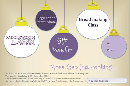 Breadmaking Class Voucher