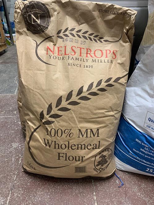 16 kg Sack Wholemeal Bread Flour