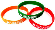 Cannabis Energy Drink Rubber Armbands.jp
