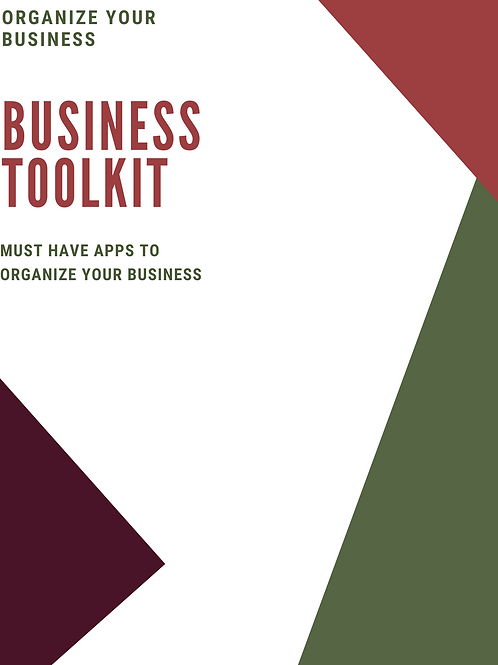 Organize your Business Toolkit