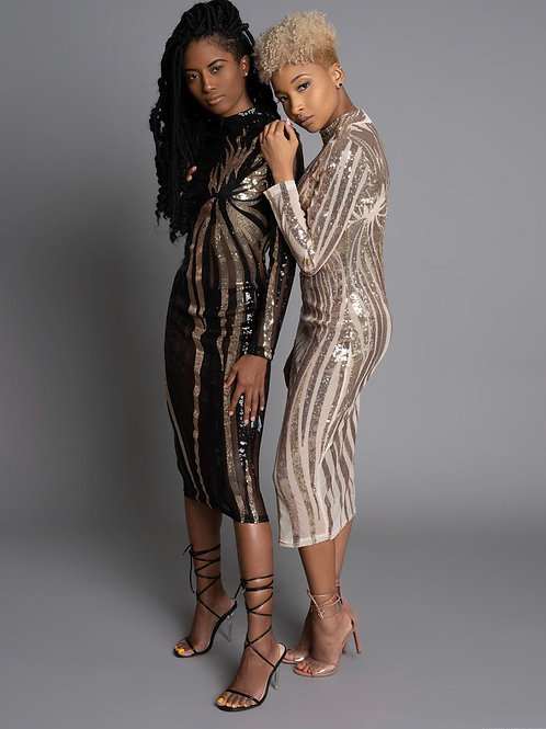 Night & Day Sequin Dress
