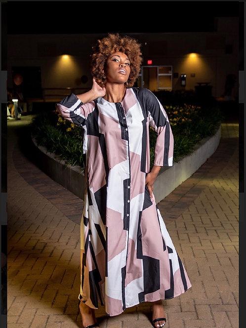 Geo Maxi Dress