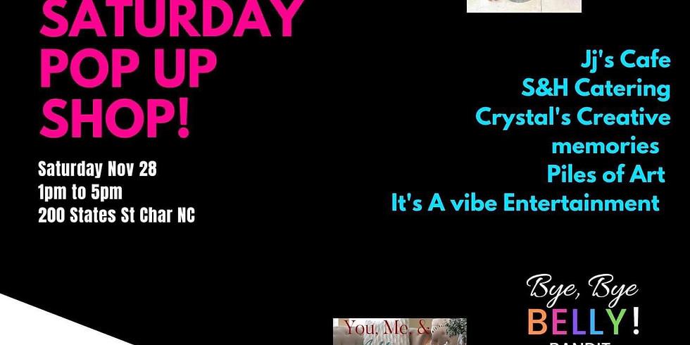 Black Saturday Pop Up Shop