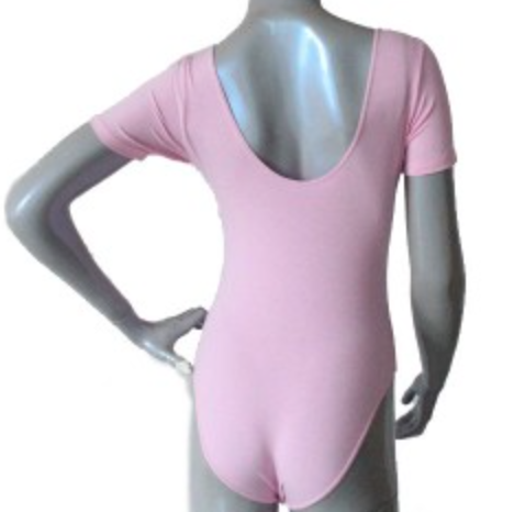 FL1601 FLAWLESS Pinch Tee Leotard