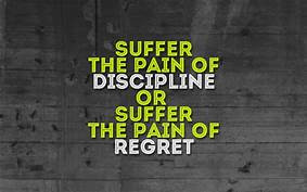 Discipline & Action Starts Today!