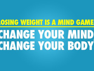 How someone loses weight with their mind!