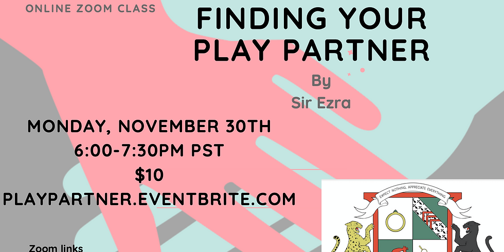 Finding Your Play Partner by Sir Ezra