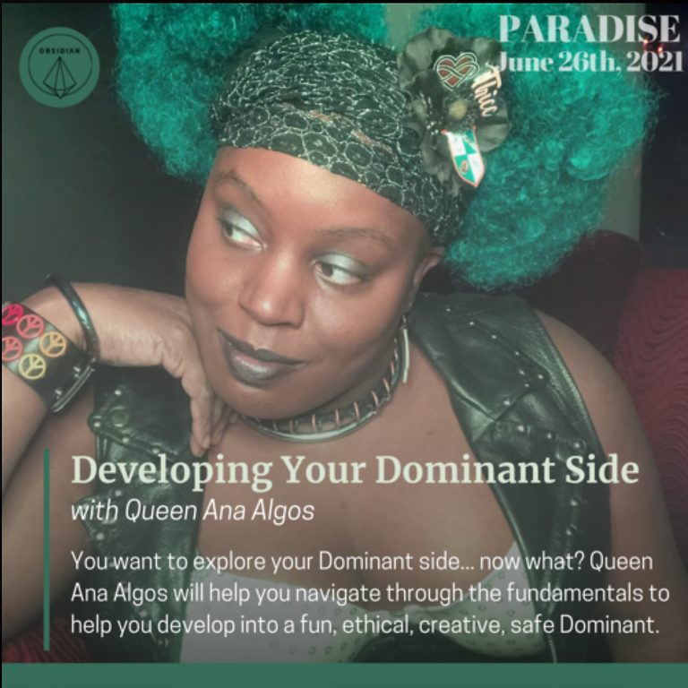 ~Virtual Class~ Developing Your Dominant Side