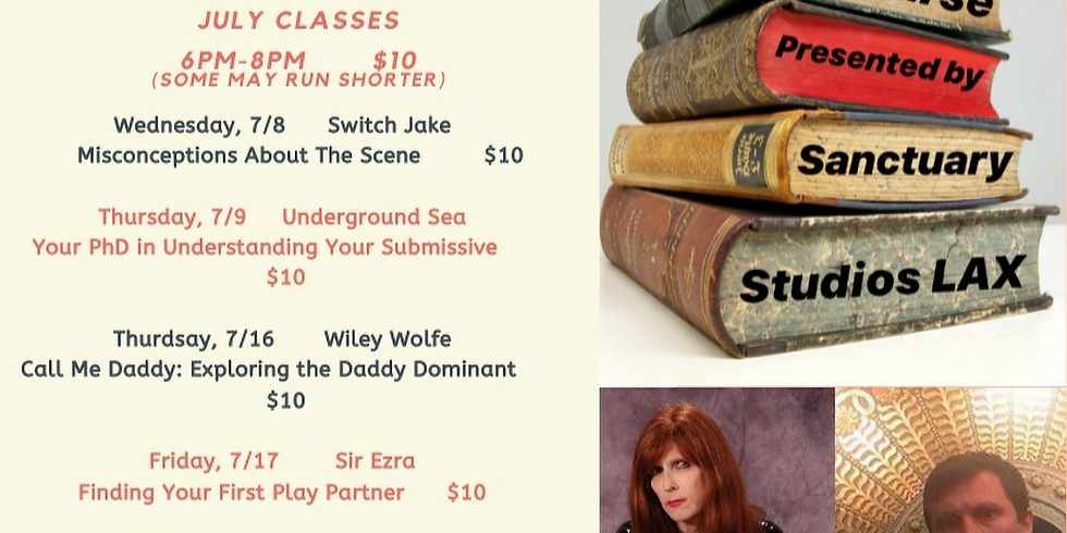 Online July Classes: The Course