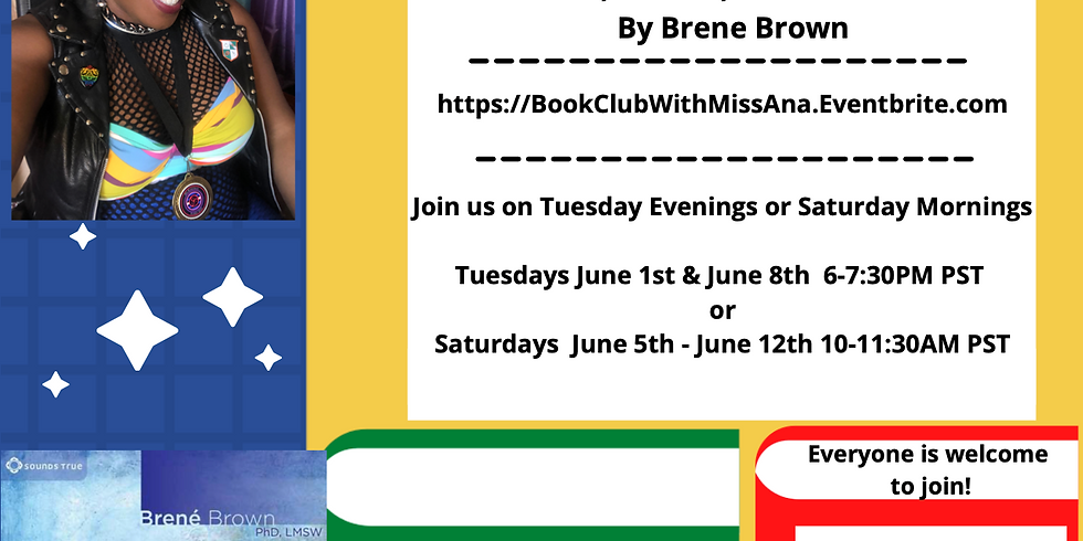 """Virtual Book Club w/ Queen Ana """"Men, Women, and Worthiness"""""""