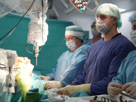 Применение хирургического робота  в эндопротезировании коленного сустава