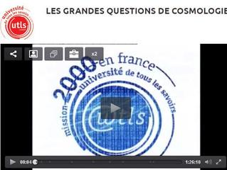 Etat du savoir en 2000 sur les grandes questions cosmologiques