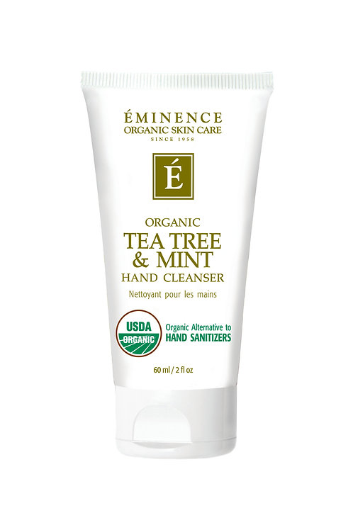 TEA TREE & MINT HAND CLEANSER: Hand cleanser