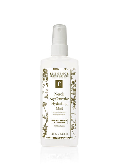 NEROLI AGE CORRECTIVE HYDRATING MIST: Plumping toner for all skin types