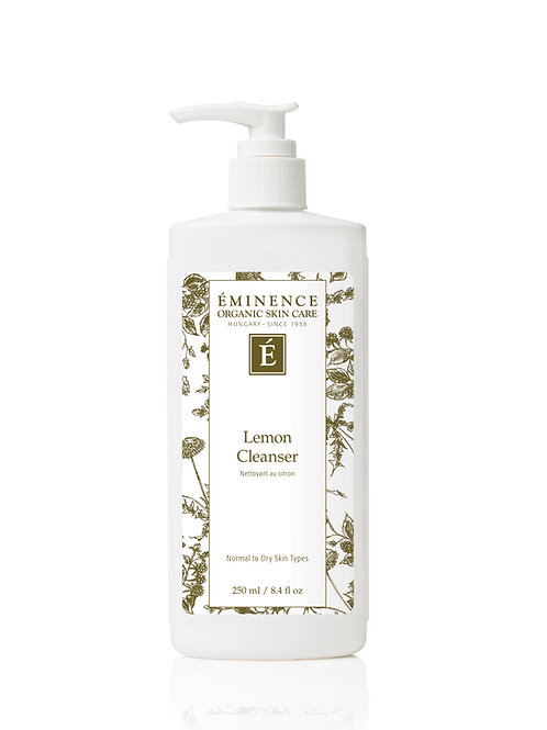 LEMON CLEANSER: Hydrating cream cleanser