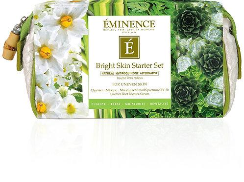BRIGHT SKIN STARTER SET: Improve uneven skin tone