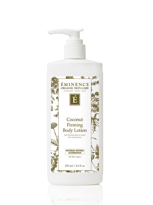 COCONUT FIRMING BODY LOTION: Body lotion for all skin types