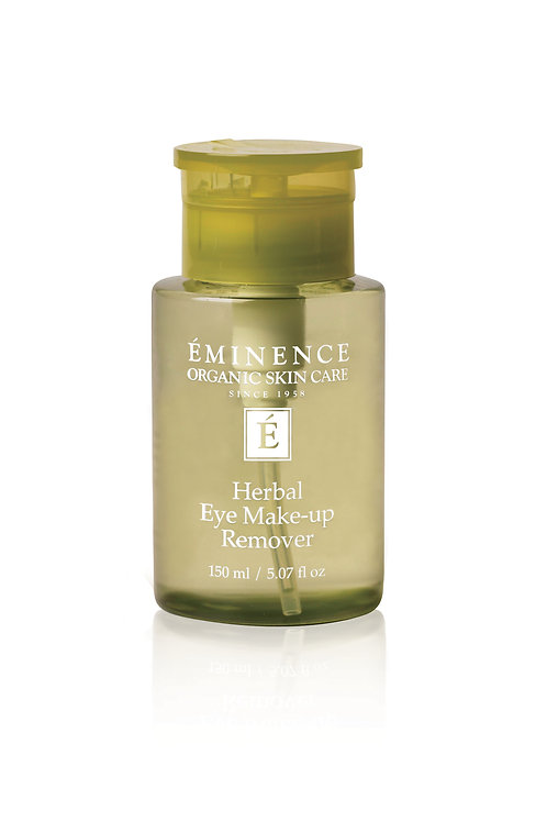 HERBAL EYE MAKE-UP REMOVER: Gentle but effective make-up remover