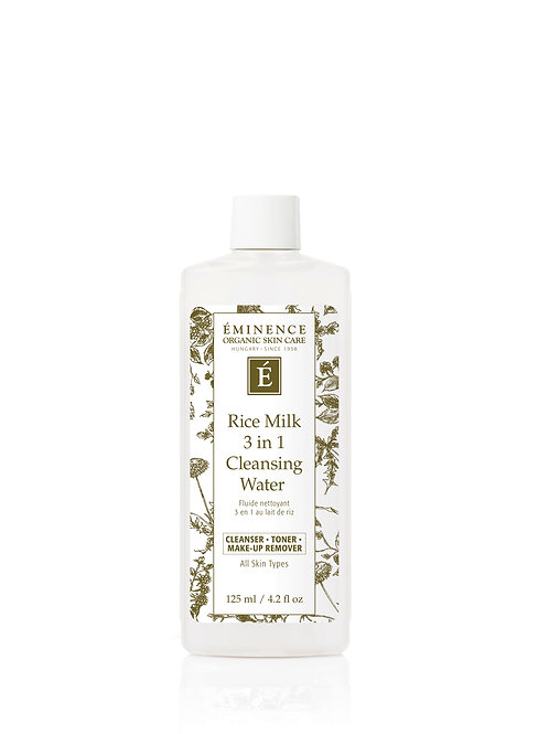 RICE MILK 3 in 1 CLEANSING WATER: Cleanser, toner & make-up remover