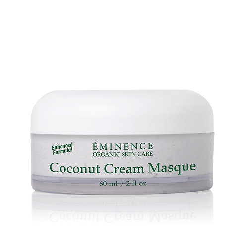 COCONUT CREAM MASQUE: Ultra nutrition and hydration