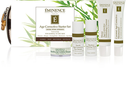 AGE CORRECTIVE STARTER SET: Collagen boosting routine