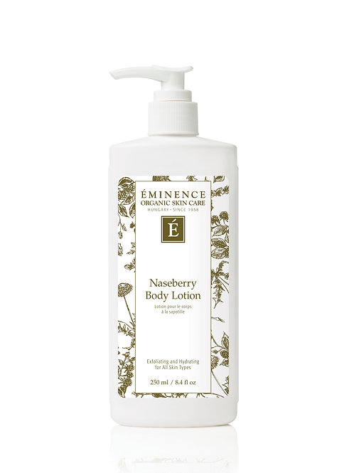 NASEBERRY BODY LOTION: Exfoliation and deep hydrating lotion
