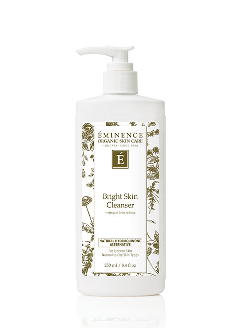 BRIGHT SKIN CLEANSER: Uneven skin corrective cleanser