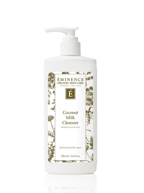 COCONUT MILK CLEANSER: Gentle cleansing and hydration