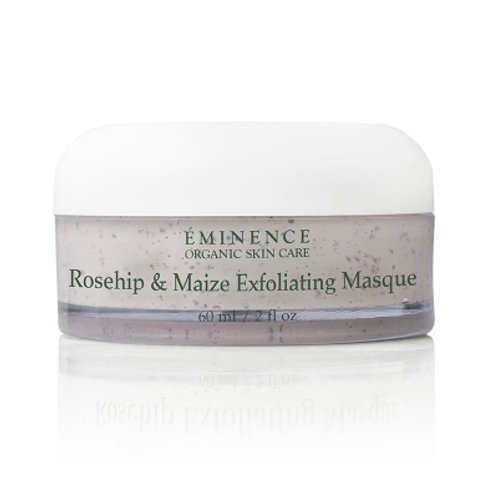 ROSEHIP & MAIZE EXFOLIATING MASQUE: Gentle exfoliating mask