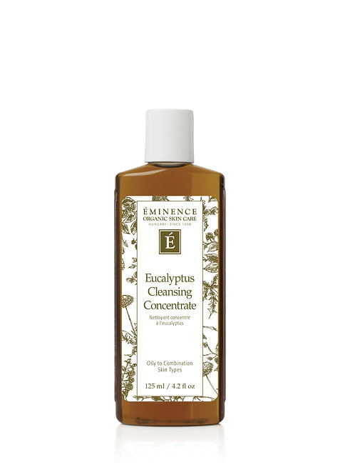 EUCALYPTUS CLEANSING CONCENTRATE: Gel cleanser for combination-oily skin