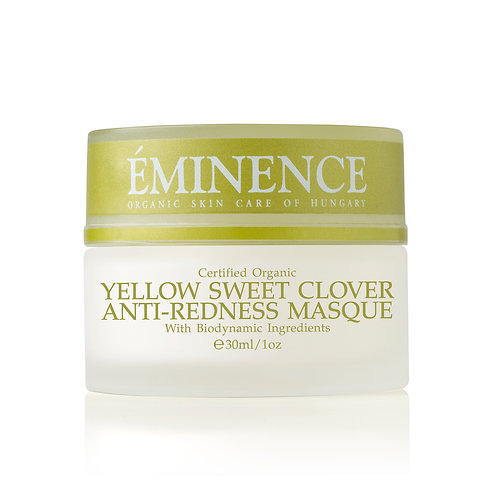 YELLOW SWEET CLOVER ANTI-REDNESS MASQUE: Hydrating and calming mask
