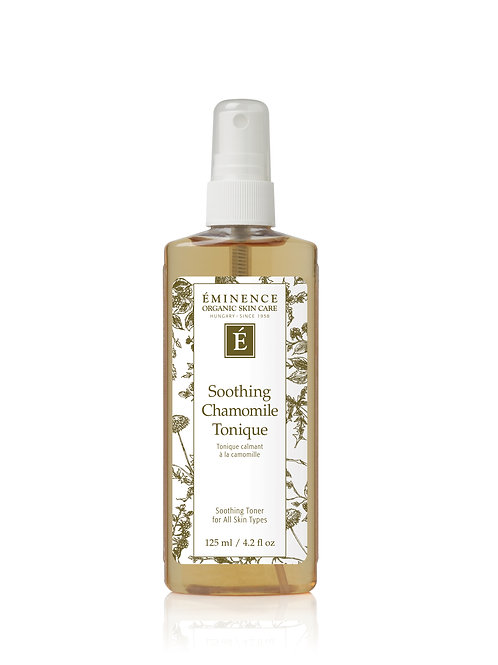SOOTHING CHAMOMILE TONIQUE: Soothing toner for all skin types