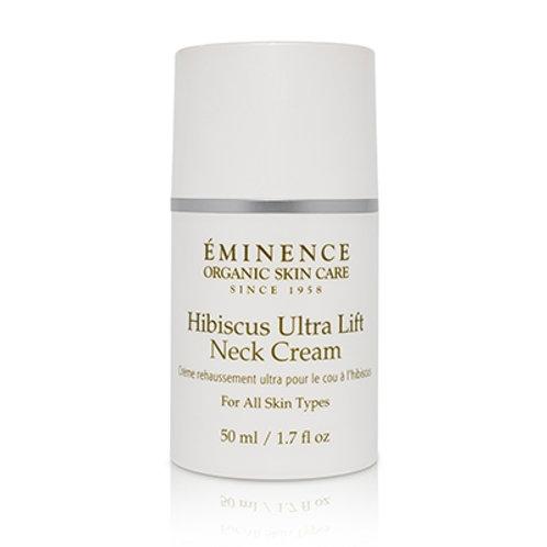 HIBISCUS ULTRA LIFT NECK CREAM: Rejuvenates and firms neck area