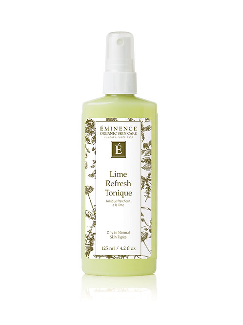 LIME REFRESH TONIQUE: Refreshing toner for normal-oily skin
