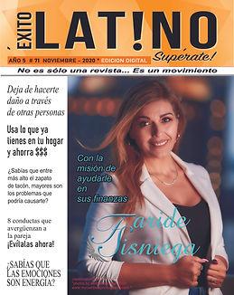 Éxito_Latino_Supérate_Portada_Noviem