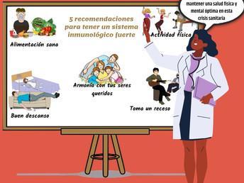 5 recomendaciones para tener un sistema inmune fuerte
