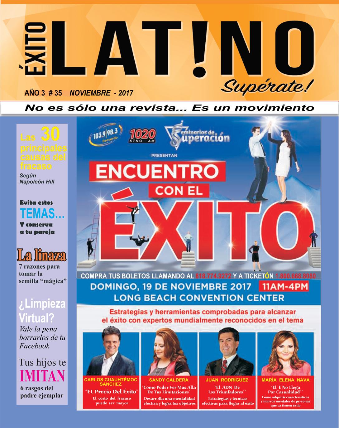 Exito Latino- Noviembre