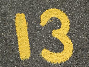 """Los misterios del temeroso """"13"""""""