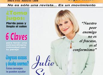 """""""Nuestro peor enemigo no es el fracaso, es el conformismo"""" Julie Stav, sumó la iniciativa y la educa"""