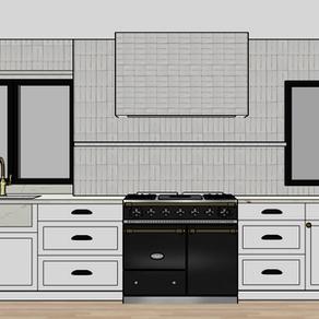 Designing a narrow kitchen: Part 1