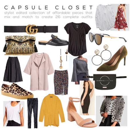 Make your life easy again... Capsule your closet.