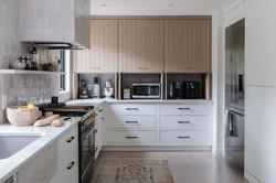 kitchen pantry & appliance garage