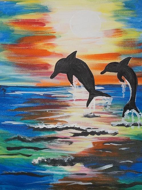 Double Dolphin Jump