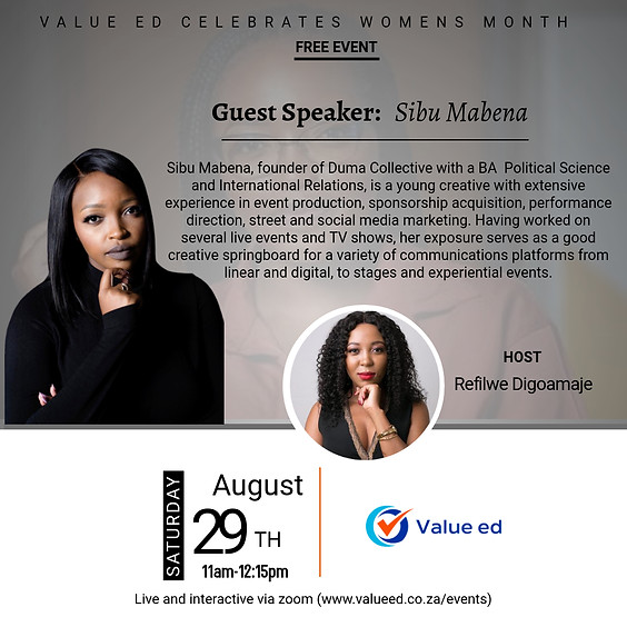 Women's month Discussion