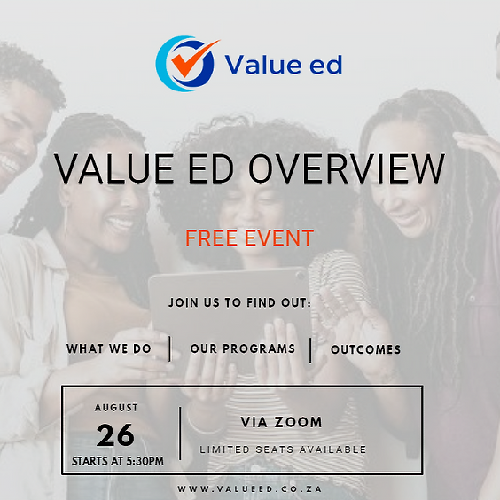 Overview of Value ed