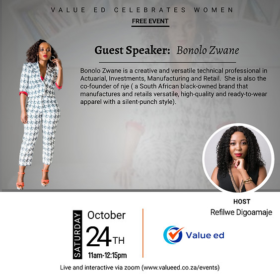 Celebrating Women w/Bonolo Zwane