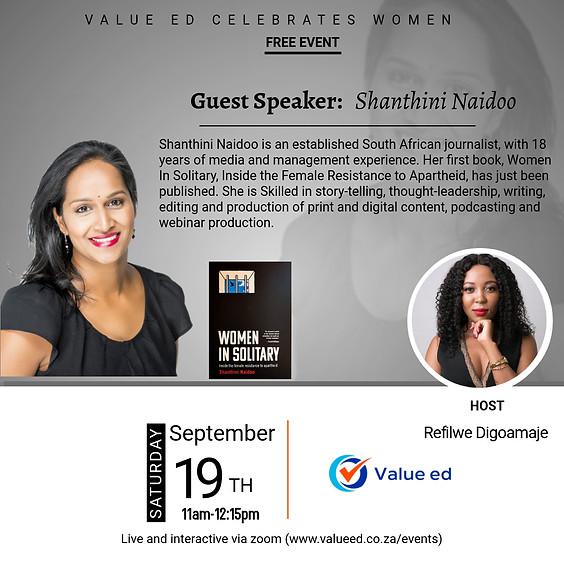 Celebrating Women w/Shanthini Naidoo