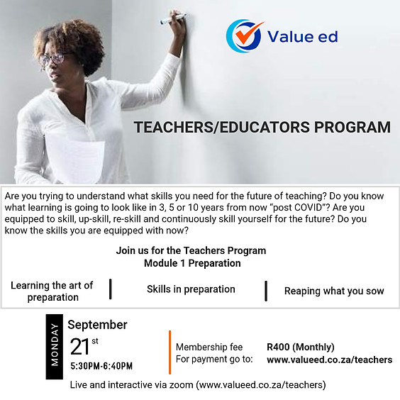 Teachers Program  - Module 2
